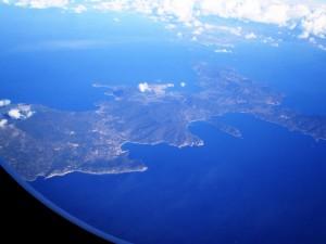 Elba dall'aereoC